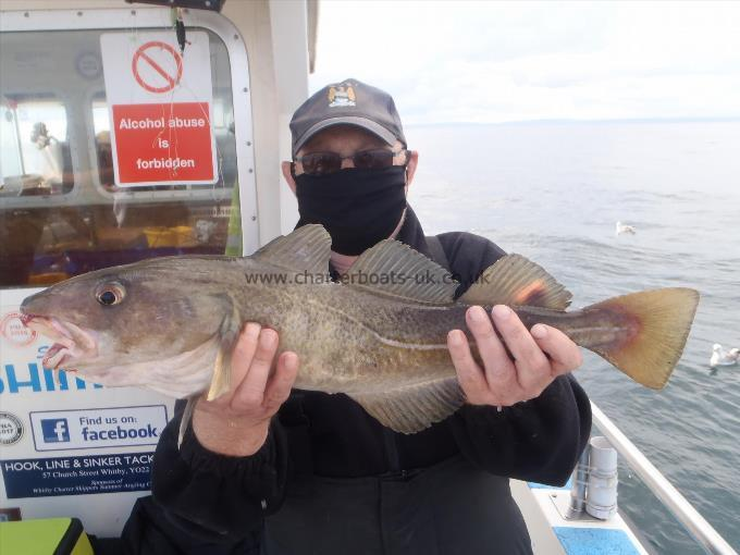 4 lb 6 oz Cod by Dave Bottomley.