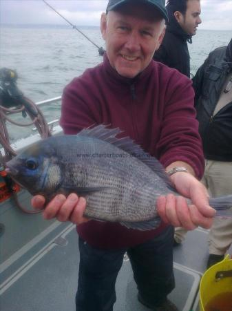 3 lb 14 oz Black Sea Bream by Mark Cornish