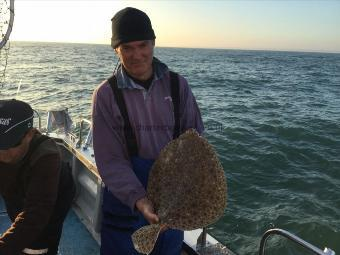 8 lb Turbot by Ian Hansford