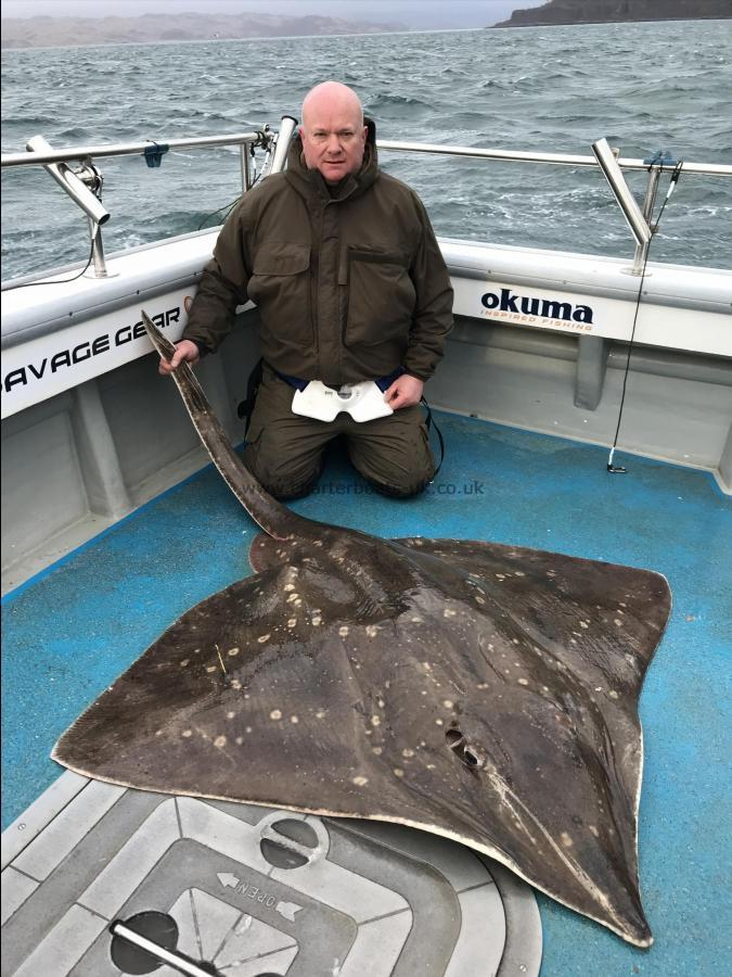 208 lb Common Skate by Phil
