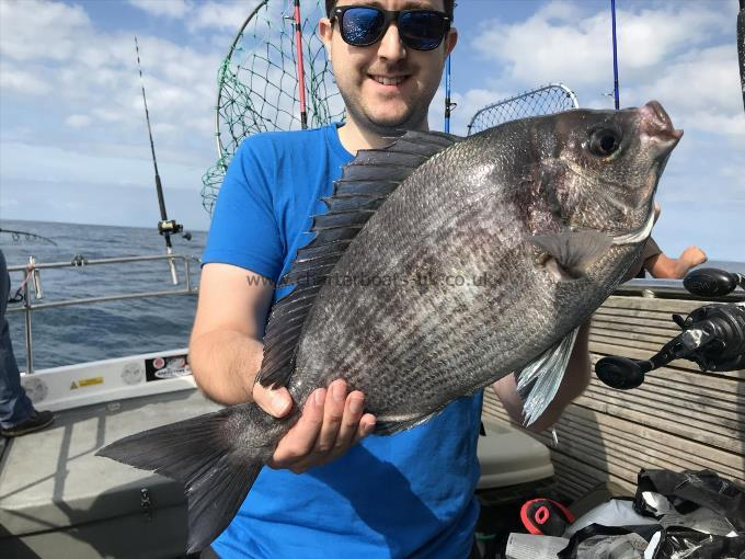 4 lb 6 oz Black Sea Bream by Will Pollitt