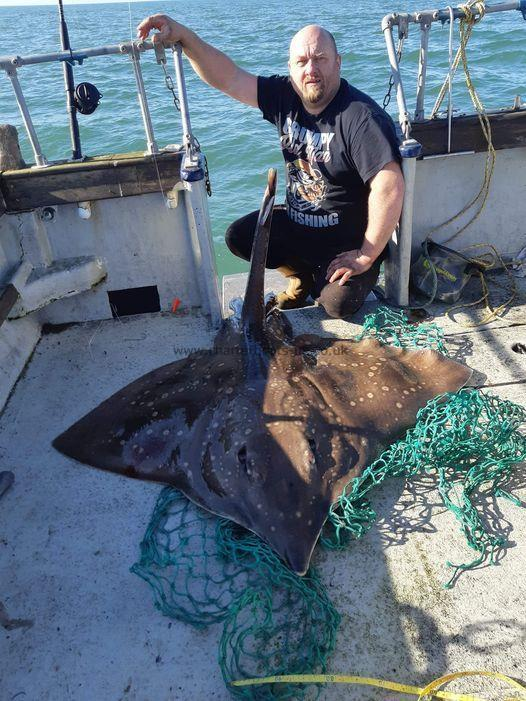 107 lb Common Skate by Unknown