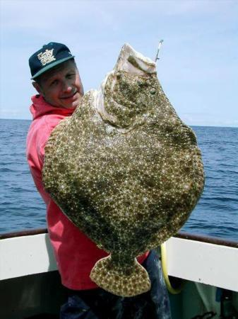 23 lb 4 oz Turbot by Wilf Dolman