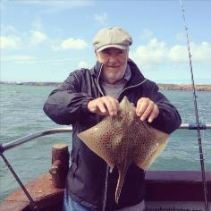 4 lb 8 oz Spotted Ray by Pops