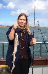 1 lb 8 oz Lesser Spotted Dogfish by Family fun trip
