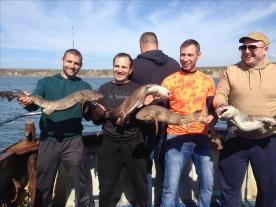 12 lb Bull Huss by Lithuanian fishing team