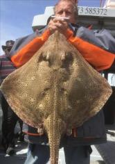 20 lb 4 oz Blonde Ray by Unknown