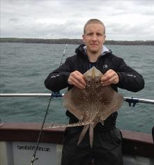 6 lb Thornback Ray by Andrew