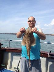 4 lb Spotted Ray by Onslow